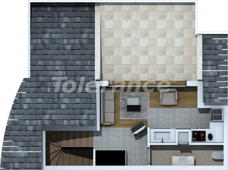 Трехкомнатные апартаменты люкс класса в Лимане, Коньяалты в 500 метрах от моря - 468   Tolerance Homes