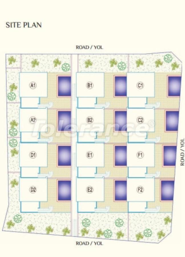 Роскошные виллы в Каргыджак, Алания с частным бассейном - 8924 | Tolerance Homes