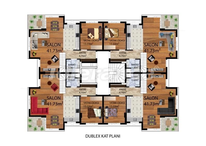 Элитные квартиры в Коньяалты, Анталия рядом с морем от одного из лучших застройщиков - 9487 | Tolerance Homes