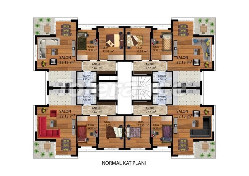 Элитные квартиры в Коньяалты, Анталия рядом с морем от одного из лучших застройщиков - 9486 | Tolerance Homes