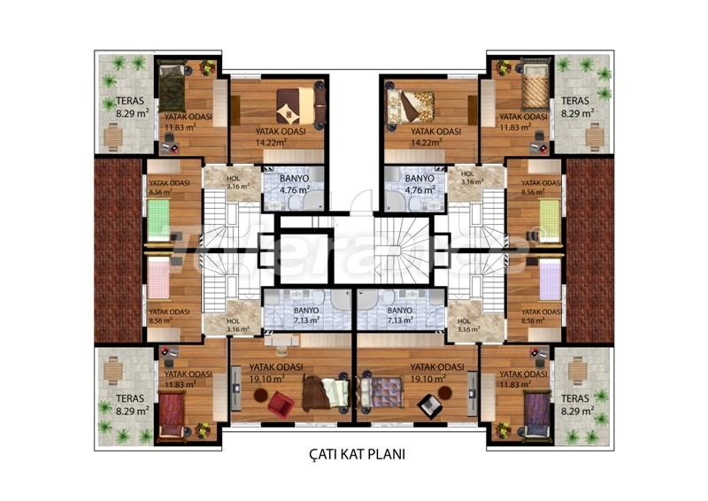 Элитные квартиры в Коньяалты, Анталия рядом с морем от одного из лучших застройщиков - 9488 | Tolerance Homes