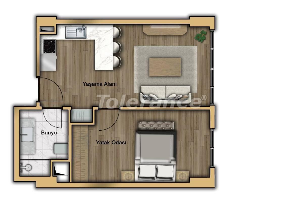 Квартиры в Кючукчекмедже, Стамбул в современном комплексе с рассрочкой до 2-х лет с гарантией аренды - 20358 | Tolerance Homes