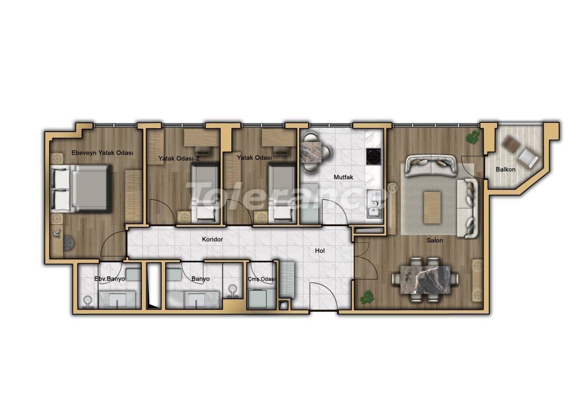 Квартиры в Кючукчекмедже, Стамбул в современном комплексе с рассрочкой до 2-х лет с гарантией аренды - 20360 | Tolerance Homes