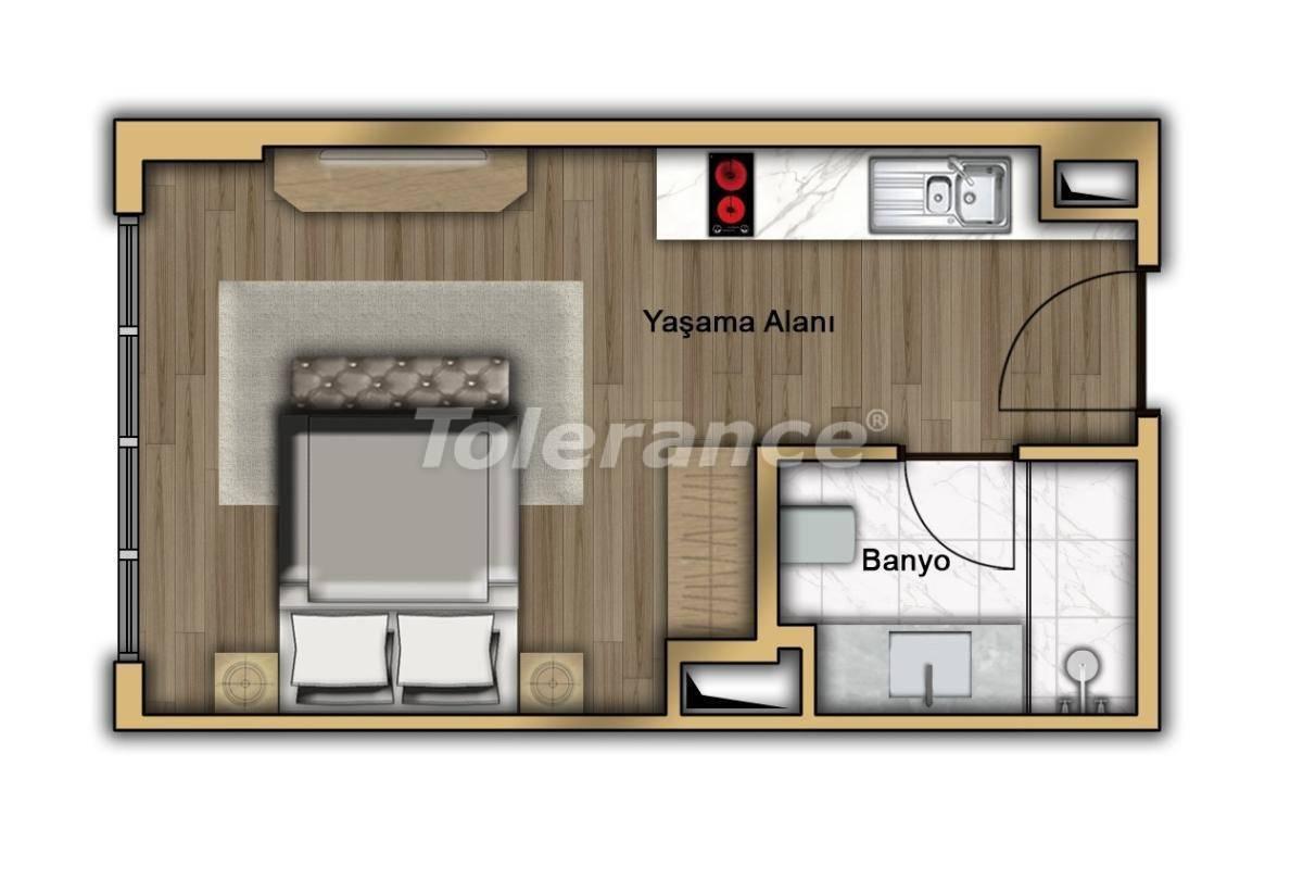 Квартиры в Кючукчекмедже, Стамбул в современном комплексе с рассрочкой до 2-х лет с гарантией аренды - 20357 | Tolerance Homes