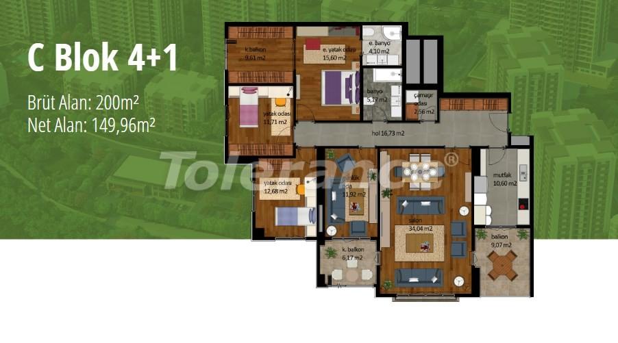 Квартиры в Стамбуле с рассрочкой в престижном районе на побережье Мраморного моря - 17005   Tolerance Homes