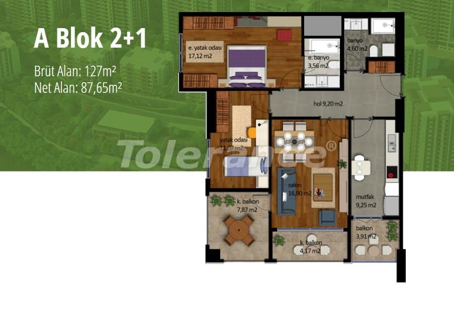 Квартиры в Стамбуле с рассрочкой в престижном районе на побережье Мраморного моря - 17002   Tolerance Homes