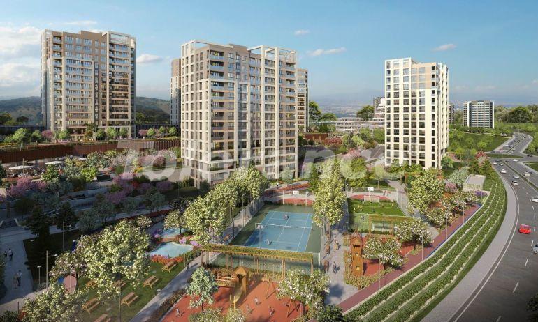 Просторные квартиры в Башакшехир, Стамбул в современном комплексе с рассрочкой до 1 года - 20595   Tolerance Homes