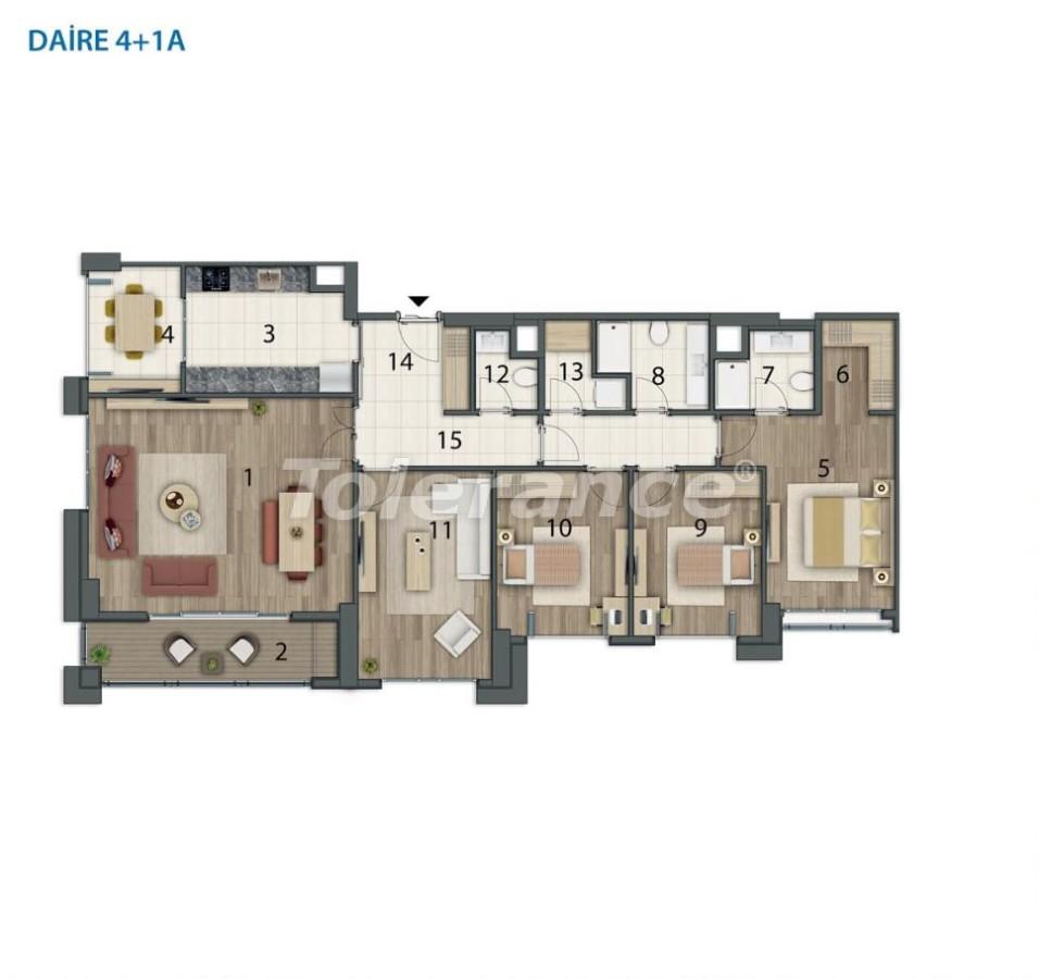 Просторные квартиры в Башакшехир, Стамбул в современном комплексе с рассрочкой до 1 года - 20561   Tolerance Homes