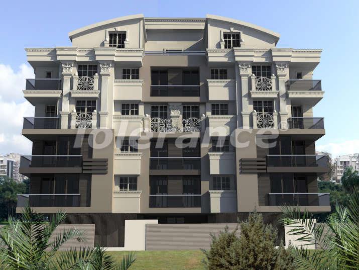 Четырехкомнатные квартиры в  Хурме, Коньяалты в комплексе с бассейном - 10462 | Tolerance Homes