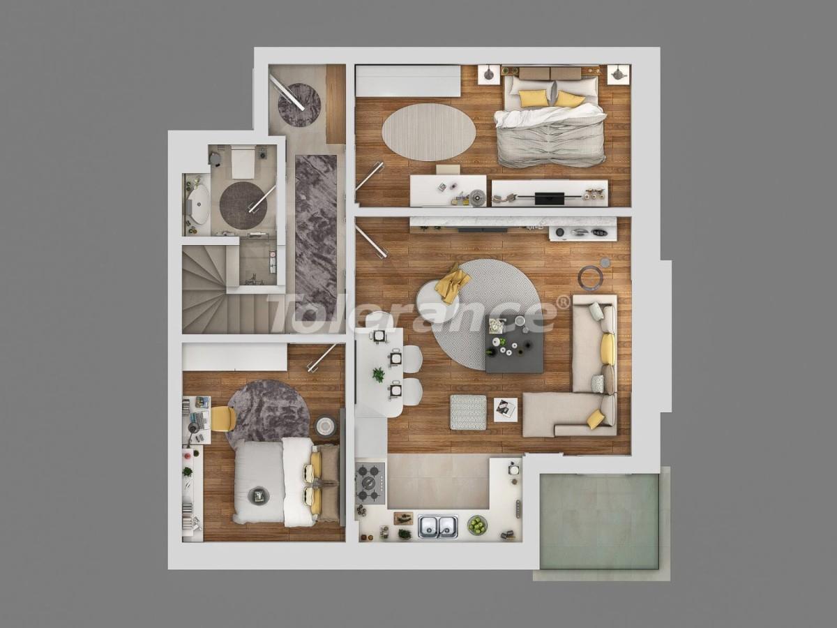 Современный комплекс апартаментов в Сарысу, Коньяалты у подножия гор с возможностью рассрочки - 10658   Tolerance Homes