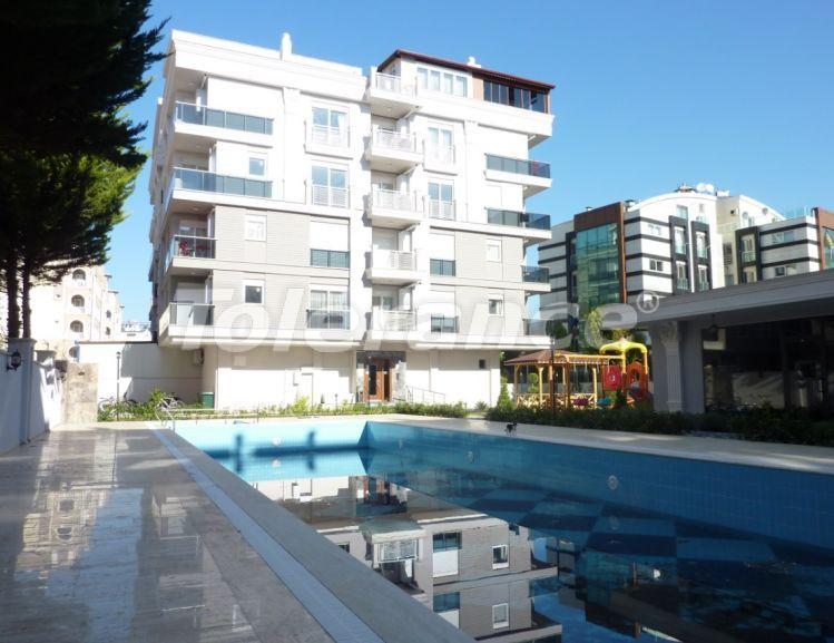 Современная трехкомнатная квартира в Хурме, Коньяалты в комплексе с бассейном - 24198 | Tolerance Homes