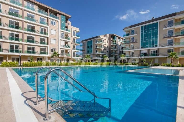 Вторичная трехкомнатная квартира в Хурме, Коньяалты в комплексе с открытым и закрытым бассейнами - 126   Tolerance Homes