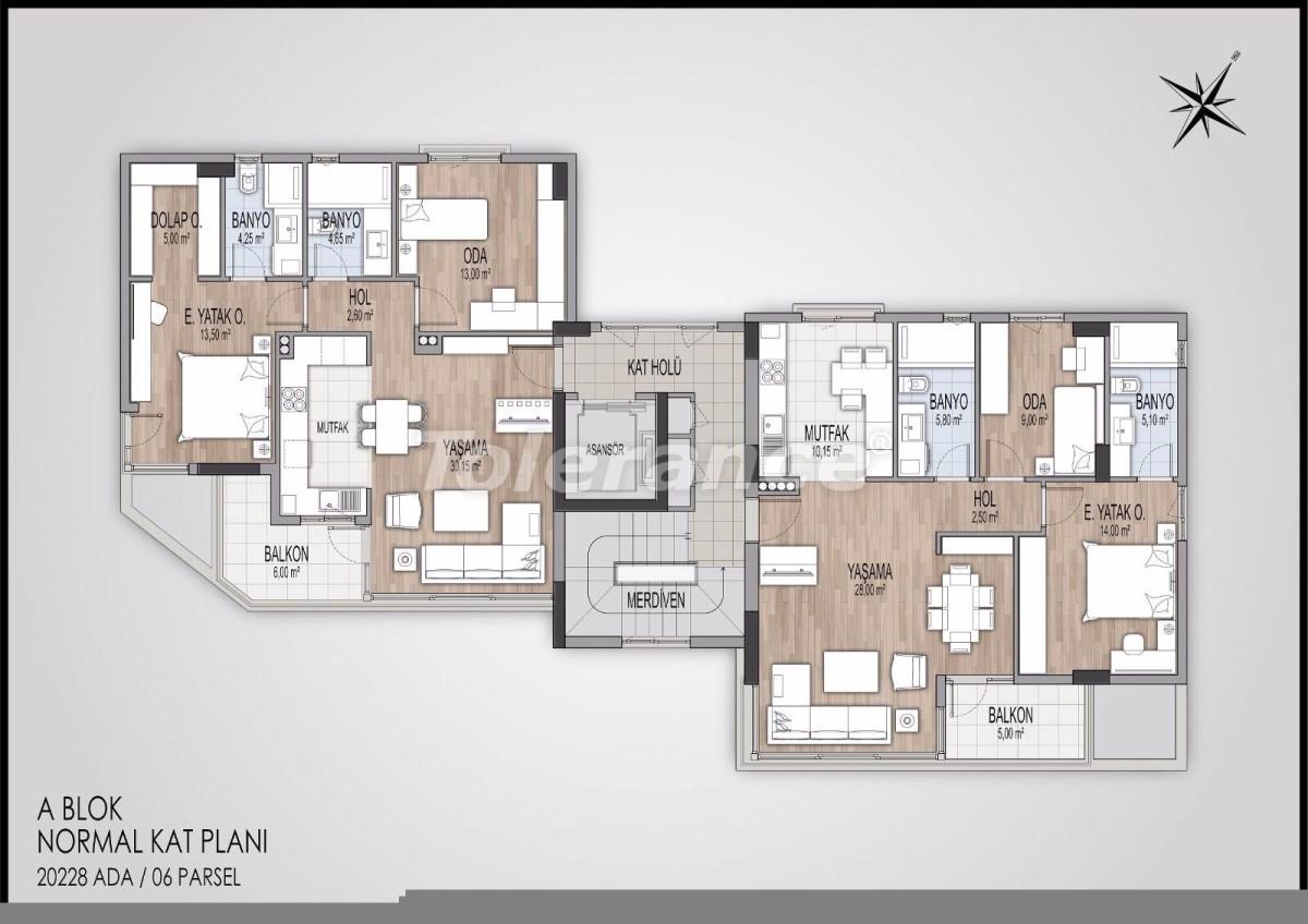 Современные апартаменты в Коньяалты, Анталия от  лучшего застройщика - 11596   Tolerance Homes