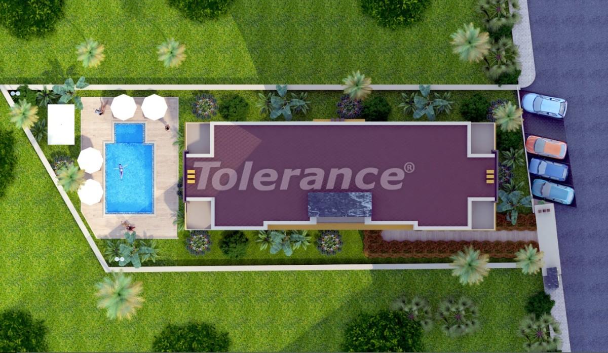 Апартаменты в Лимане, Коньяалты с фитнес центром и сауной от застройщика - 19269 | Tolerance Homes