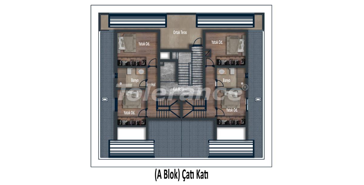 Эксклюзивные апартаменты в Коньяалты, Анталия  класса люкс в 100 метрах от моря и набережной - 12027 | Tolerance Homes