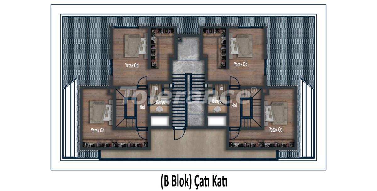 Эксклюзивные апартаменты в Коньяалты, Анталия  класса люкс в 100 метрах от моря и набережной - 12030 | Tolerance Homes