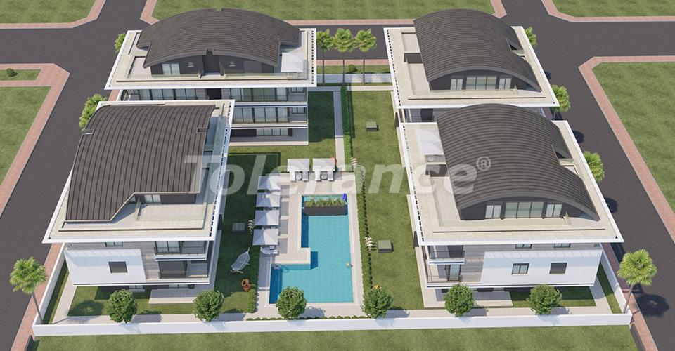 Эксклюзивные апартаменты в Коньяалты, Анталия  класса люкс в 100 метрах от моря и набережной - 12022 | Tolerance Homes