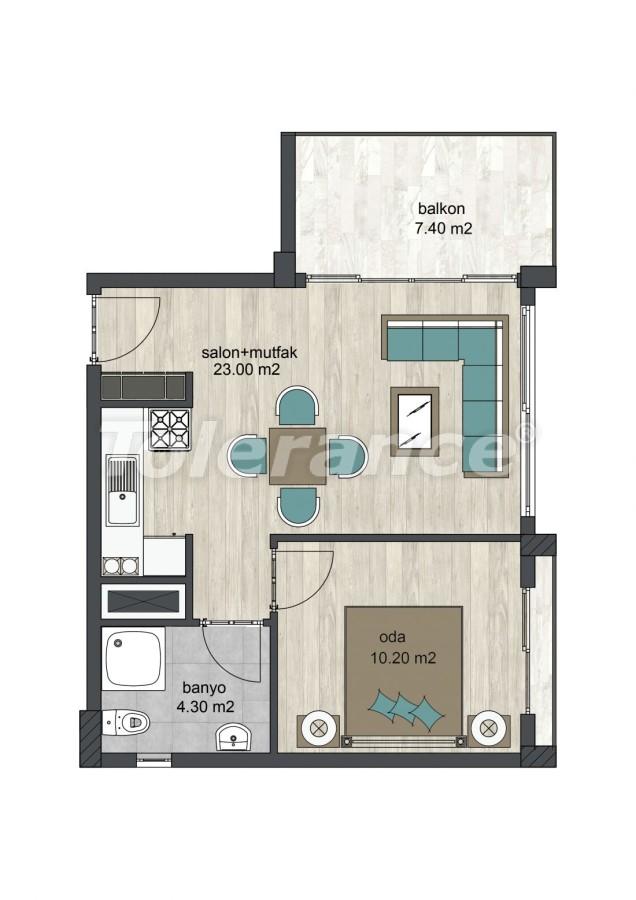 Новые апартаменты в Айдын, Кушадасы - 13313 | Tolerance Homes