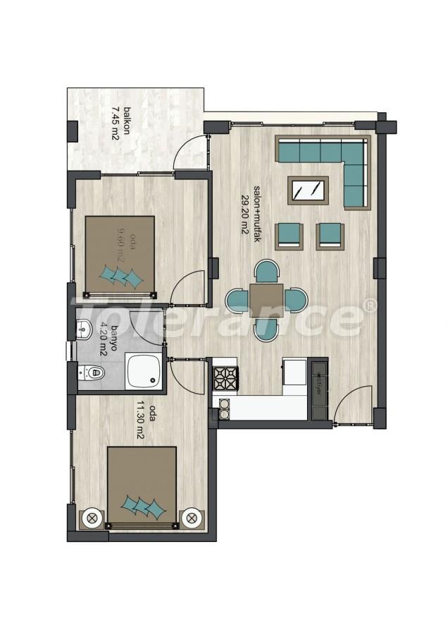 Новые апартаменты в Айдын, Кушадасы - 13314 | Tolerance Homes
