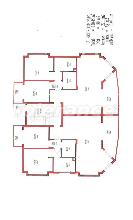 Апартаменты в Белеке для инвестиций, отельного типа, рядом с Национальным гольф-клубом - 13507 | Tolerance Homes