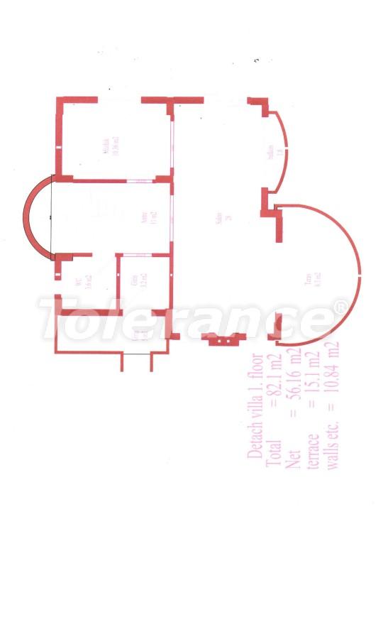 Апартаменты в Белеке для инвестиций, отельного типа, рядом с Национальным гольф-клубом - 13508 | Tolerance Homes