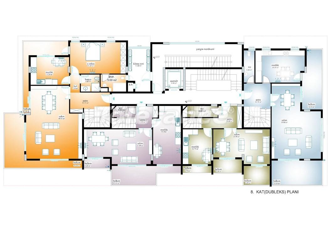 Просторные апартаменты  в центре Махмутлара, Алания - 13535 | Tolerance Homes