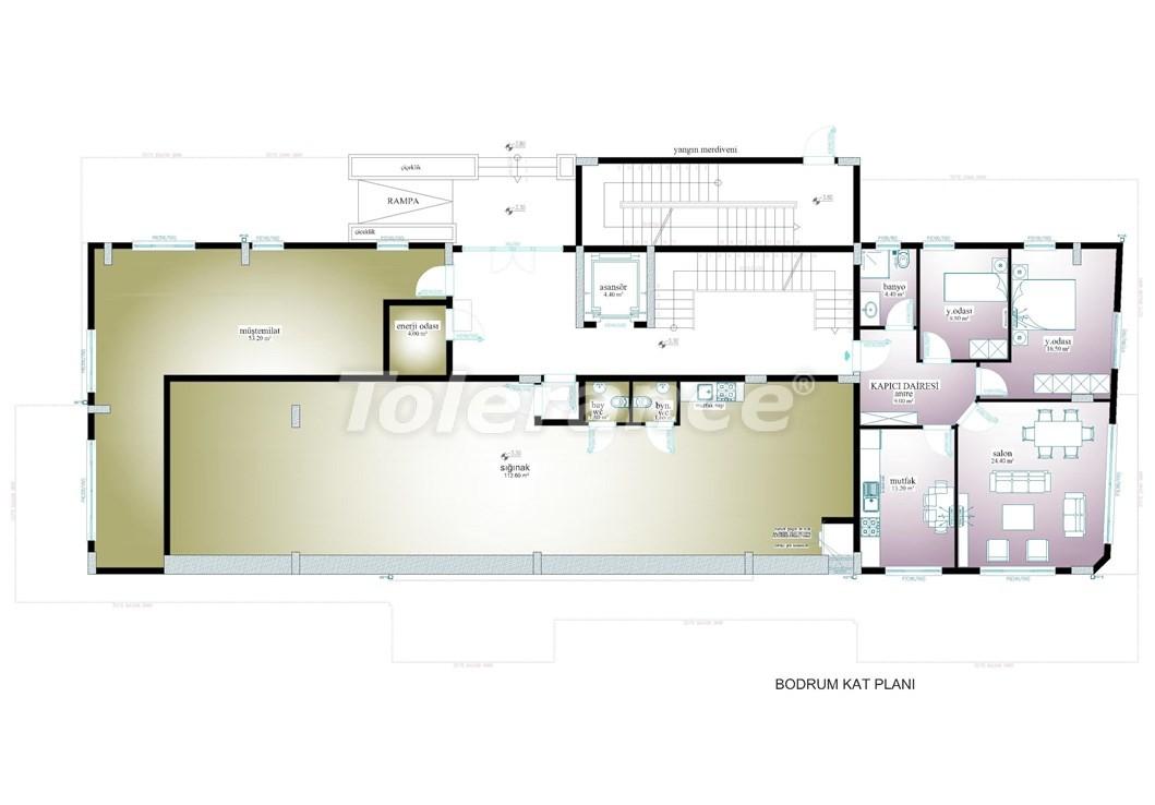 Просторные апартаменты  в центре Махмутлара, Алания - 13532 | Tolerance Homes