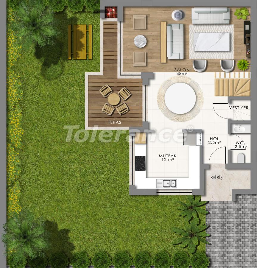 Роскошные виллы в Коньяалты, Анталия - 13792 | Tolerance Homes