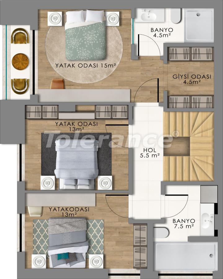 Роскошные виллы в Коньяалты, Анталия - 13791 | Tolerance Homes