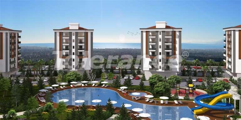Просторные квартиры в Кепезе, Анталия в современном комплексе  с бассейном - 13955 | Tolerance Homes