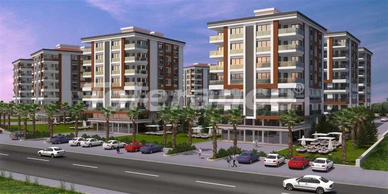 Просторные квартиры в Кепезе, Анталия в современном комплексе  с бассейном - 13956 | Tolerance Homes