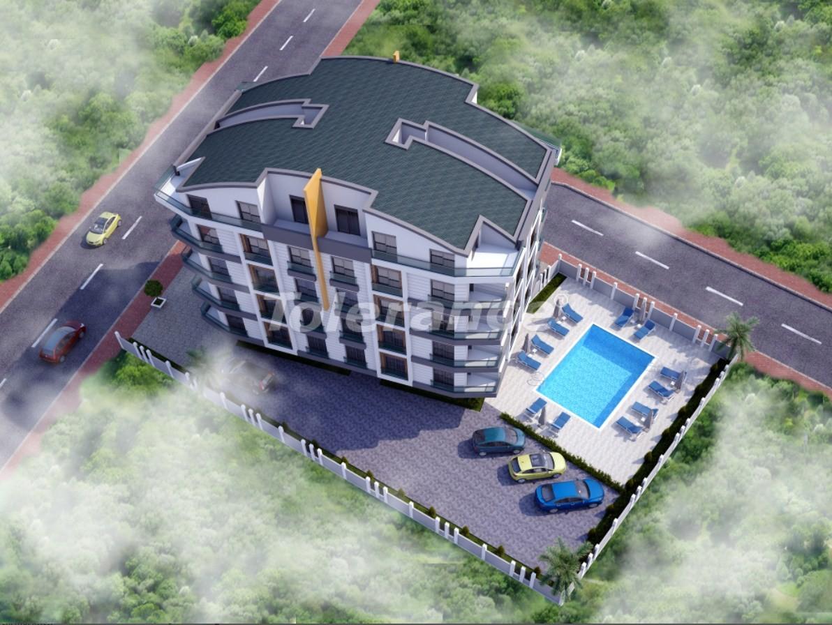 Двухкомнатная квартира в Хурме, Коньяалты в комплексе с бассейном - 18920 | Tolerance Homes