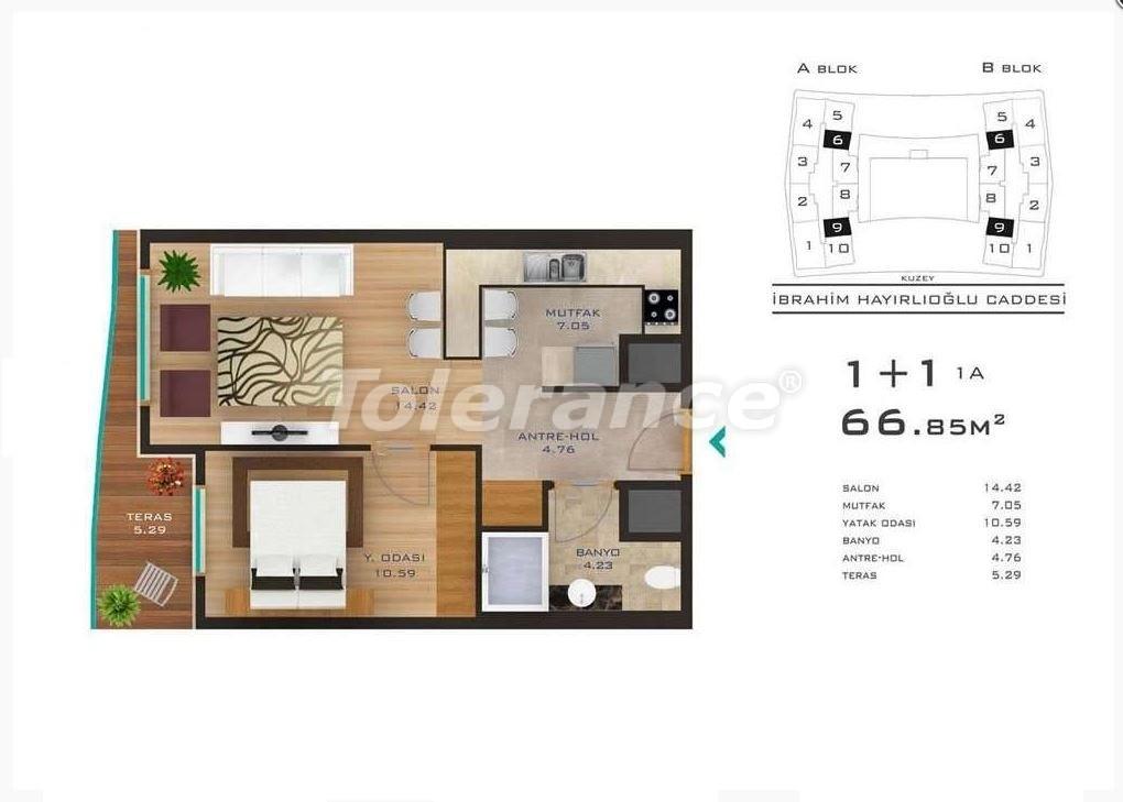 Просторные квартиры в Стамбуле в развитом районе с возможностью рассрочки до 2-х лет - 23686 | Tolerance Homes