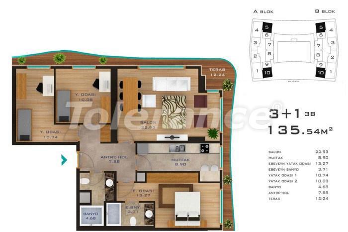 Просторные квартиры в Стамбуле в развитом районе с возможностью рассрочки до 2-х лет - 14185 | Tolerance Homes