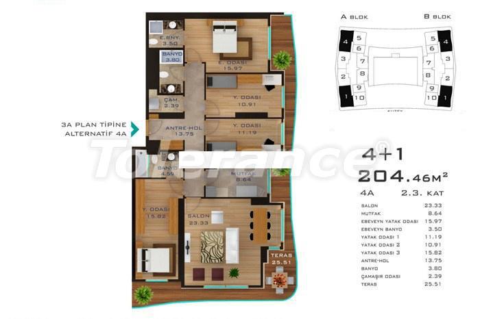 Просторные квартиры в Стамбуле в развитом районе с возможностью рассрочки до 2-х лет - 14182 | Tolerance Homes