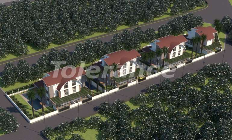 Роскошные виллы в Белеке, Анталия с индивидуальным бассейном - 14269 | Tolerance Homes