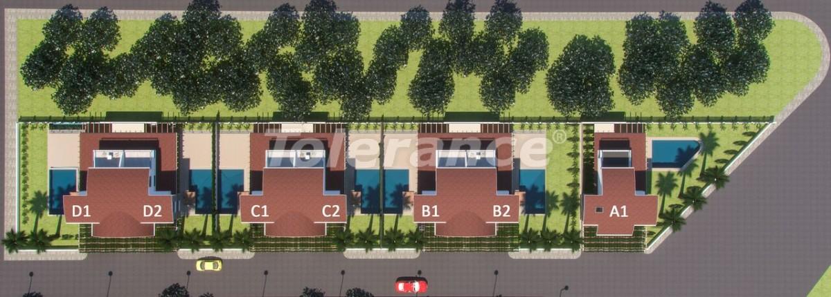 Роскошные виллы в Белеке, Анталия с индивидуальным бассейном - 14282 | Tolerance Homes