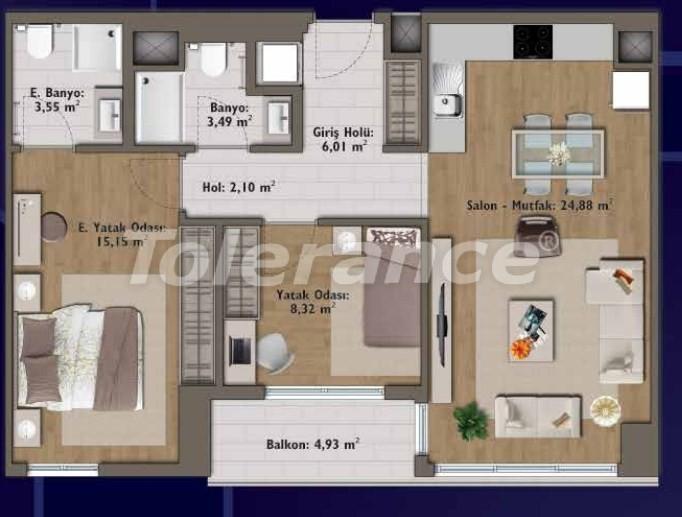 Элитные квартиры в Стамбуле в современном комплексе с развитой инфраструктурой - 14315 | Tolerance Homes