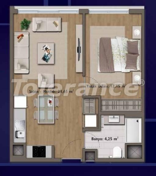 Элитные квартиры в Стамбуле в современном комплексе с развитой инфраструктурой - 14311 | Tolerance Homes