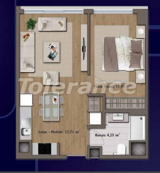 Элитные квартиры в Стамбуле в современном комплексе с развитой инфраструктурой - 14303 | Tolerance Homes