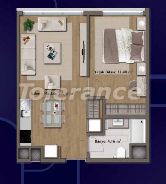Элитные квартиры в Стамбуле в современном комплексе с развитой инфраструктурой - 14310 | Tolerance Homes