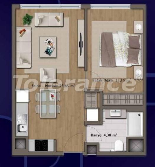 Элитные квартиры в Стамбуле в современном комплексе с развитой инфраструктурой - 14308 | Tolerance Homes