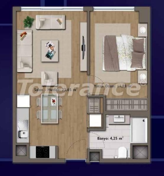 Элитные квартиры в Стамбуле в современном комплексе с развитой инфраструктурой - 14330 | Tolerance Homes