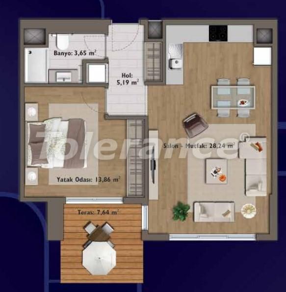 Элитные квартиры в Стамбуле в современном комплексе с развитой инфраструктурой - 14312 | Tolerance Homes
