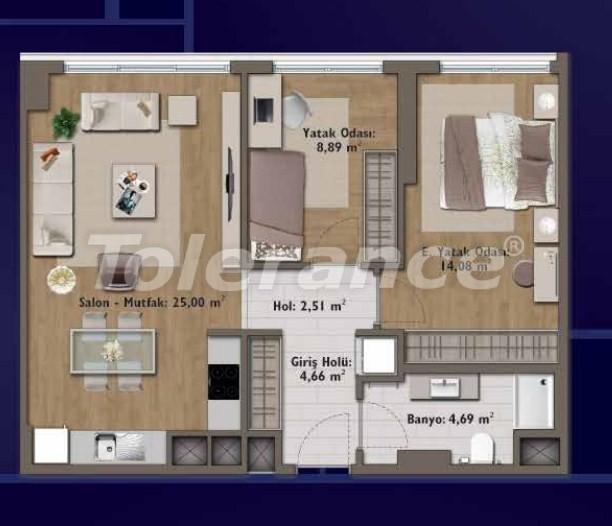 Элитные квартиры в Стамбуле в современном комплексе с развитой инфраструктурой - 14316 | Tolerance Homes