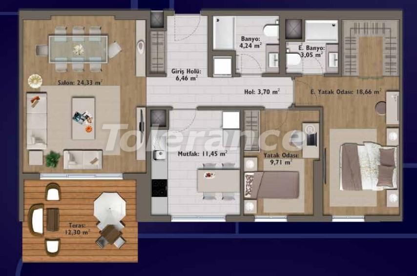 Элитные квартиры в Стамбуле в современном комплексе с развитой инфраструктурой - 14314 | Tolerance Homes