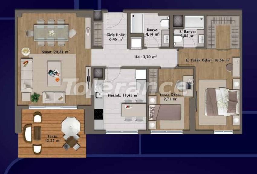 Элитные квартиры в Стамбуле в современном комплексе с развитой инфраструктурой - 14320 | Tolerance Homes