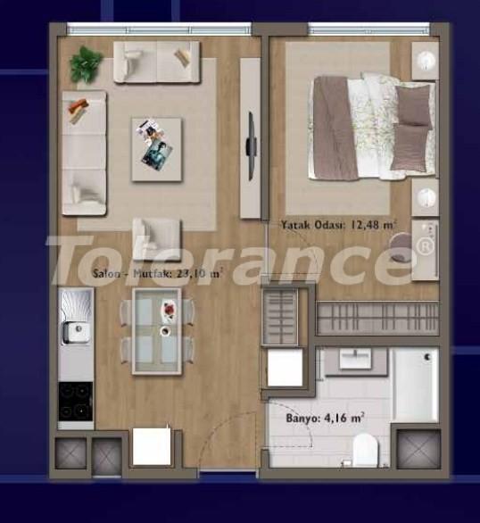 Элитные квартиры в Стамбуле в современном комплексе с развитой инфраструктурой - 14309 | Tolerance Homes