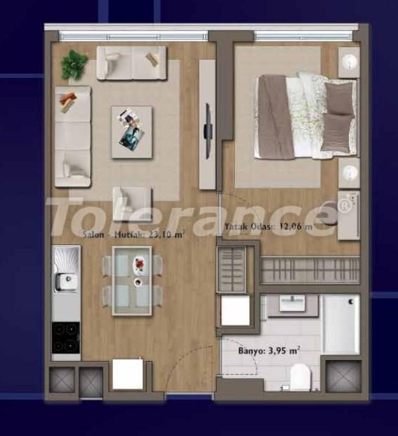 Элитные квартиры в Стамбуле в современном комплексе с развитой инфраструктурой - 14302 | Tolerance Homes