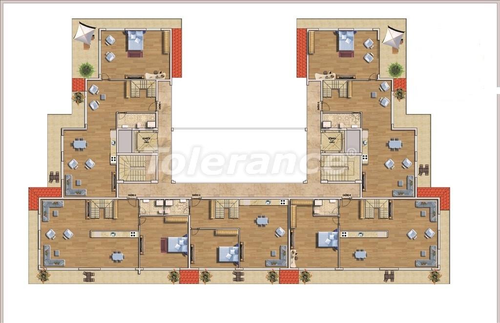 Недорогие квартиры в Алании в современном комплексе с бассейном - 14581   Tolerance Homes